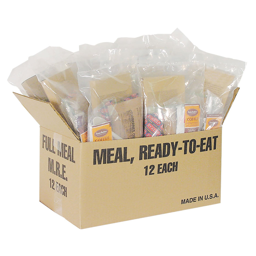 Major Surplus Deluxe Complete MREs, - 12 Heater Meals - mtrsuperstore