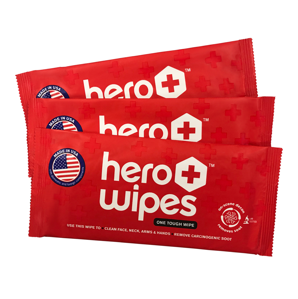 Hero Wipes - Case of 250 Individually Wrapped Wipes
