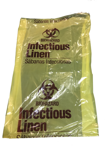 Infectious Linen Bags - Case/250 - mtrsuperstore
