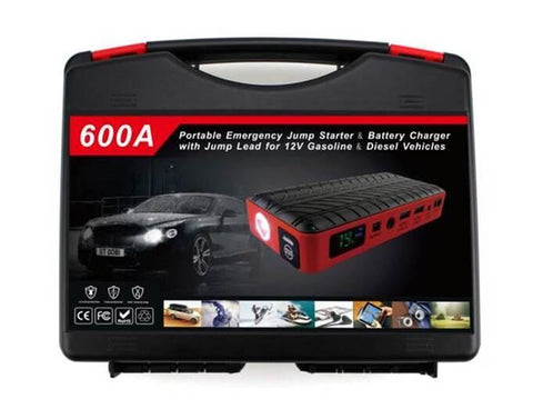 Portable Emergency Jump Starter & Battery Charger