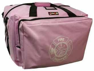 Pink Step-In Firefighter Gear Bag