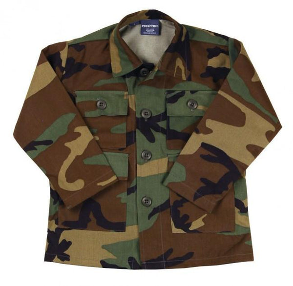 PROPPER™ Kid's BDU Coat - 50% nylon/50% cotton ripstop