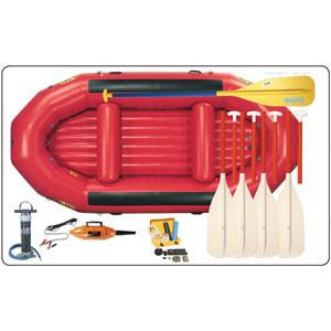 Inflatable Rescue Raft Set