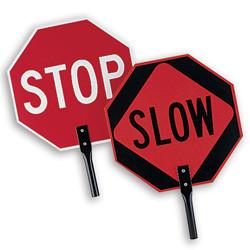 Traffic Paddle Stop/Slow - mtrsuperstore