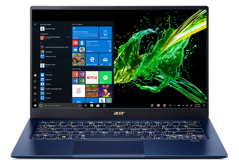 """Swift 5, i5-1035G1, 14"""" Touch FHD IPS (1920x1080), 16G RAM, 512G PCIe SSD, NVIDIA GeForce MX250, AX+BT5,WIN10H, 1YR MAIL IN"""
