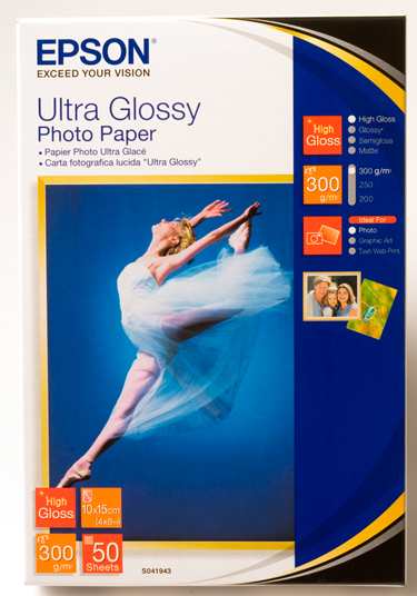 """ULTRA GLOSSY PHOTO PAPER 6 x 4"""" 50 SHEETS"""