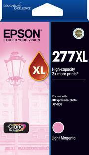 277XL High Capacity Claria Photo HD Light Magenta ink
