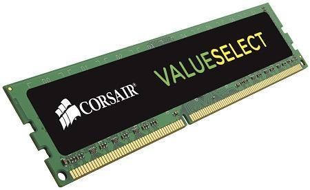 CORSAIR Value Select 8GB (1x8GB) DDR3 DRAM DIMM 1600MHz C11 1.5V