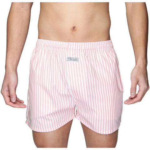 boxershorts pink stripes