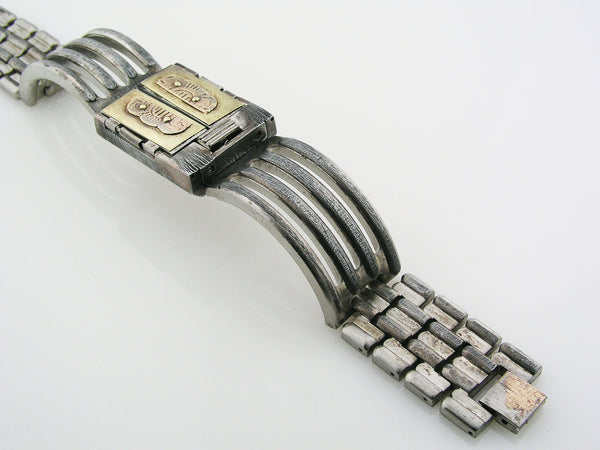 Brass Door Watch multicolor dial