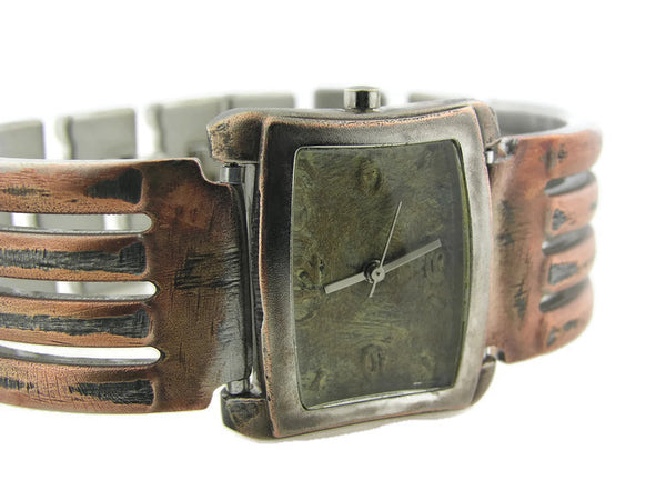 Men's Watch Antique green Dial