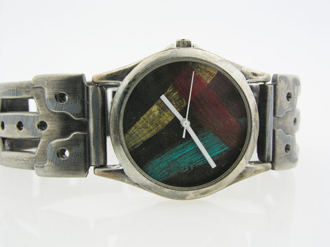 Men's Watch Multicolor Dial
