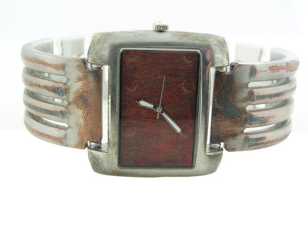 Men's Watch Antique red Dial