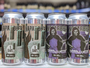 9 Bars - Naparbier X Whiplash Beer - 8% DIPA, 440ml Can