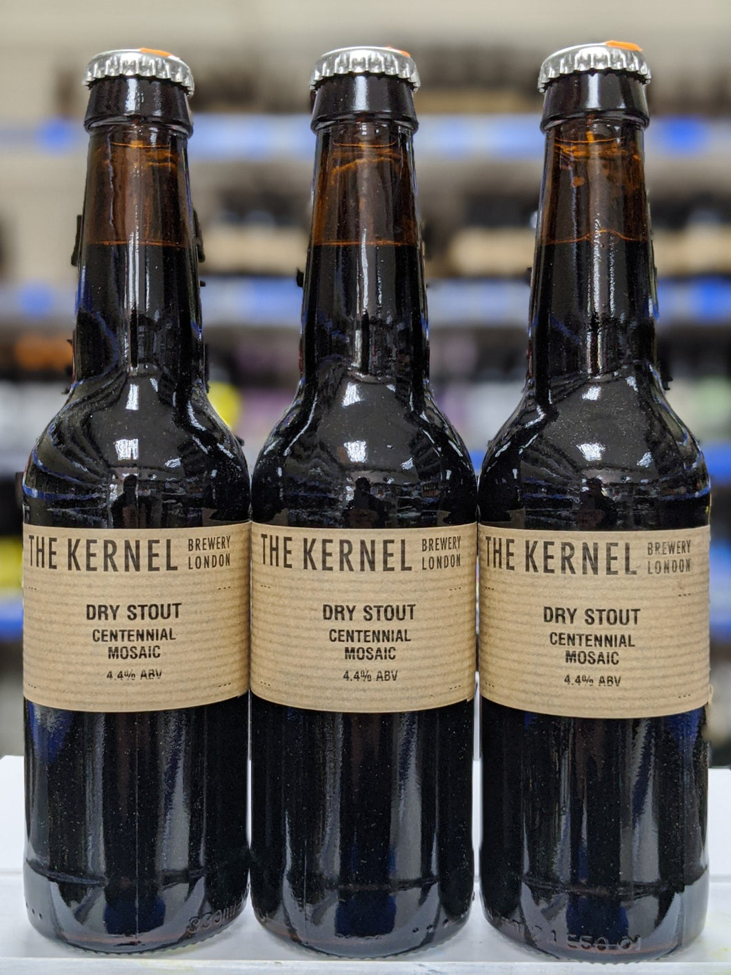 Dry Stout Centennial Mosaic - The Kernel Brewery - Dry Stout, 4.4%, 330ml Bottle