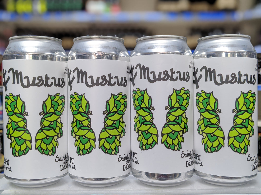 Mustus - Saint Mars Of The Desert - New England IPA, 5.4%, 440ml Can