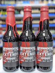 Extends 2020 Vietnamese Coffee Edition - Nerd Brewing - Oak Aged Coffee Imperial Oatmeal Stout, 11.5%, 330ml Bottle