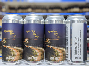 Sparks Fly Up - Ridgeside Brewery - Papaya & Peach Sour IPA, 6%, 440ml Can