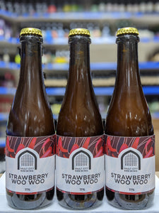 Strawberry Woo Woo - Vault City - Strawberry Sour Ale, 11%, 375ml Bottle