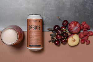 OFS013 - Northern Monk - Dark Fruit Tonka Sour, 5.1%, 440ml Can