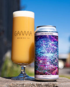 Jewel Net Of Indra - Gamma Brewing Co - DIPA, 8%, 440ml Can