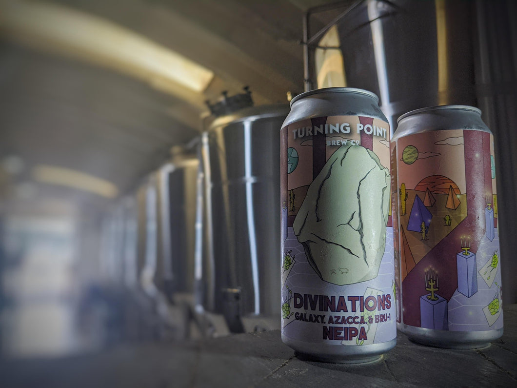 Divinations - Turning Point Brew Co - NEIPA, 6.8%, 440ml Can