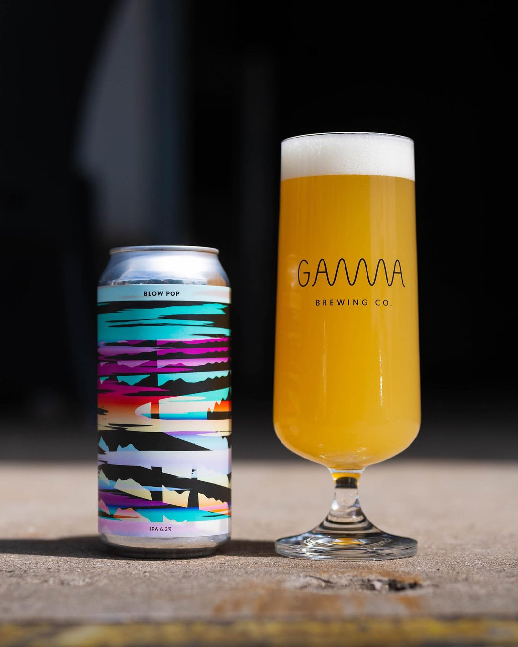 Blow Pop - Gamma Brewing Co - IPA, 6.3%, 440ml Can