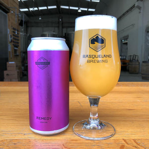 Remedy - Basqueland Brewing Co - DDH IPA, 6.3%, 440ml Can