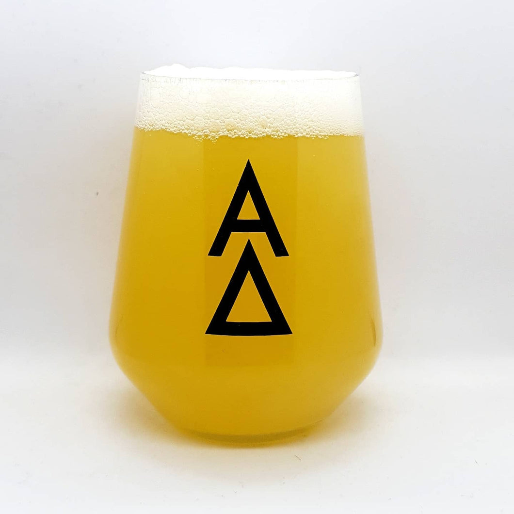 Alpha Delta Brewing - Tumbler Black Logo - Glassware