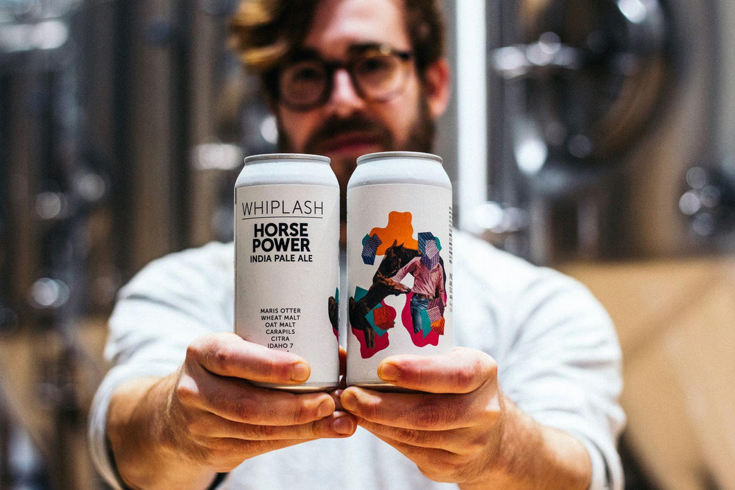 Horse Power - Whiplash Beer - IPA, 6.8%, 440ml Can