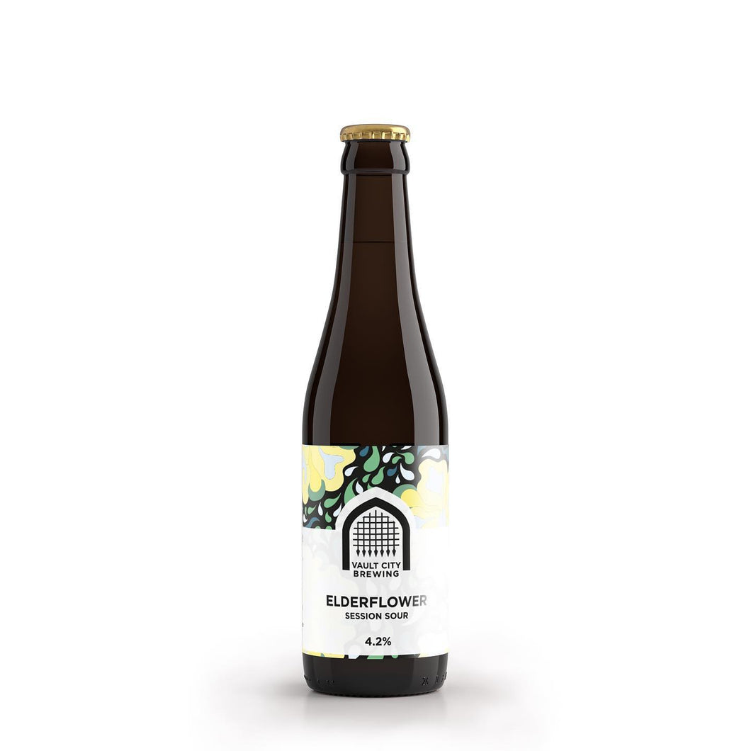 Elderflower Session Sour - Vault City - Elderflower Session Sour, 4.2%, 330ml Bottle