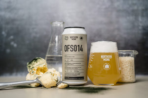 OFS014 - Northern Monk - Matcha Ice Cream Lager, 5.4%, 440ml Can
