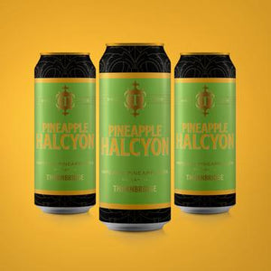 Pineapple Halcyon - Thornbridge Brewery - Pineapple Imperial IPA, 7.4%, 440ml Can