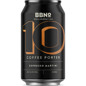 10 | Coffee Porter Espresso Martini - Brew By Numbers - Coffee Porter Espresso Martini, 6%, 330ml Can