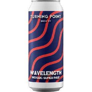 Wavelength - Turning Point Brew Co - Mosaic Super Pale, 4.5%, 440ml Can
