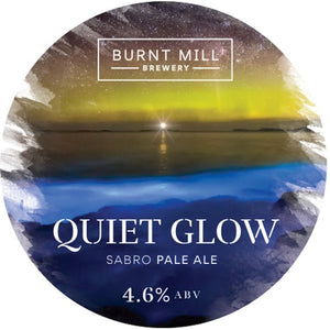 Quiet Glow - Burnt Mill - Sabro Pale, 4.6%, 440ml