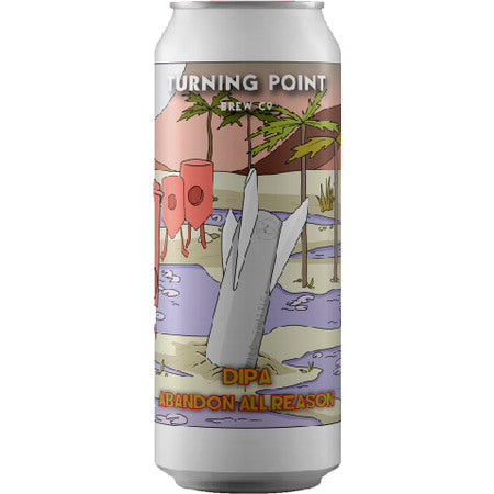 Abandon All Reason - Turning Point Brew Co - DIPA, 8.5%, 440ml