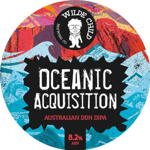 Oceanic Acquisition - Wilde Childe Brewing Co - Australian DDH DIPA, 8.2%, 440ml