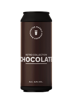 Retro Collection Chocolate - Marble Beers - Chocolate Imperial Stout, 8.5%, 500ml Can