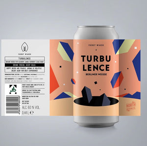 Turbulence - Fuerst Wiacek - Blueberry, Mango & Raspberry Berliner Weisse, 6%, 440ml Can