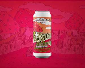 Permission To Land - Turning Point Brew Co - Raspberry Blackcurrant Lime Sour, 5.2%, 440ml Can