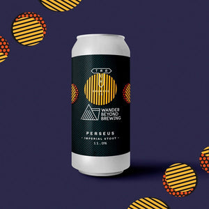 Perseus - Track Brewing Co X Wander Beyond Brewing - Imperial Stout, 11%, 440ml