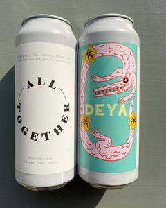 All Together IPA - Deya Brewing X Other Half - IPA, 6.5%, 500ml Can