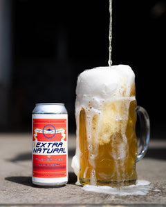 Extra Natural - Gamma Brewing Co - German Pilsner, 4.5%, 440ml Can