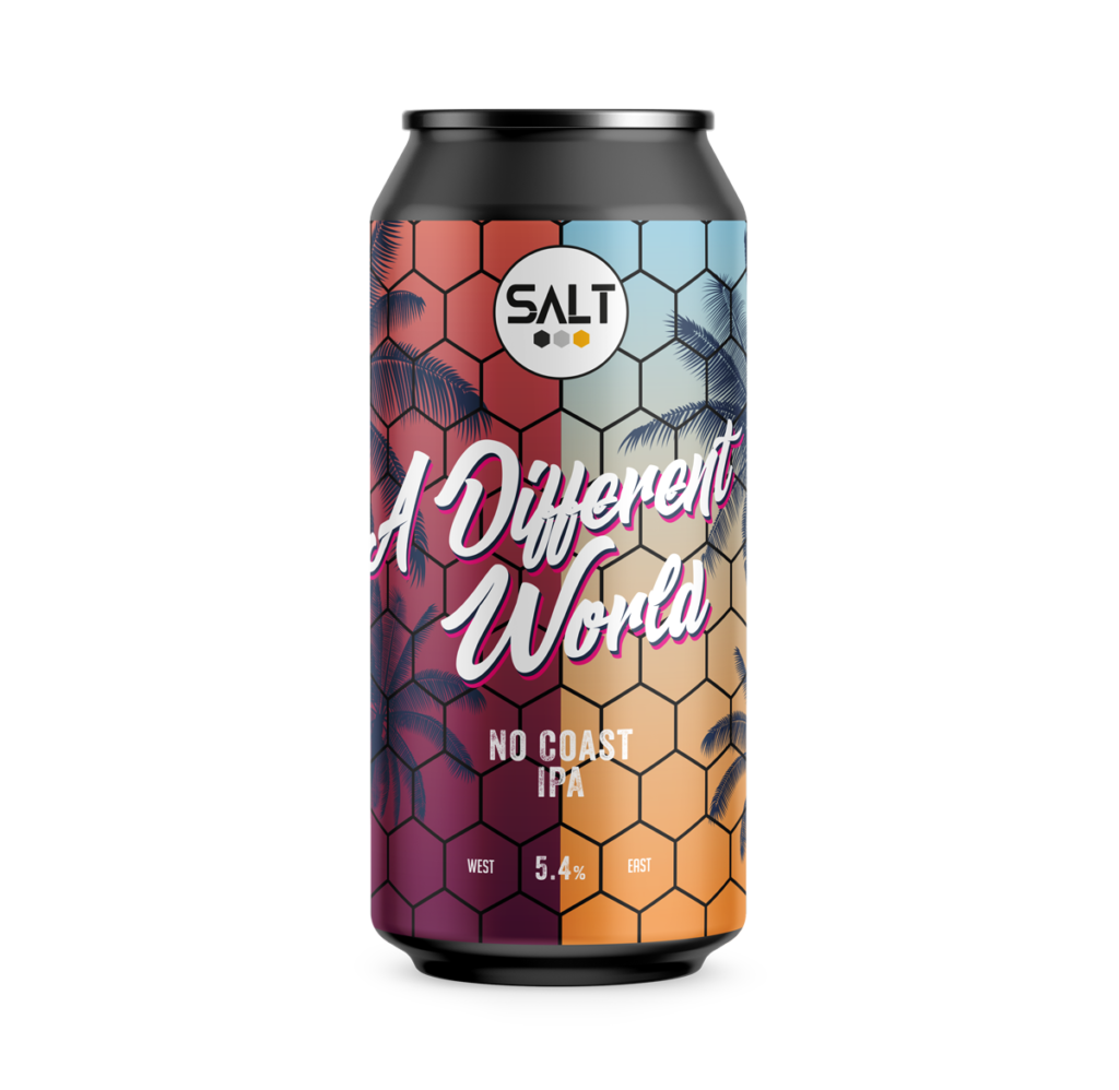 A Different World - Salt Beer Factory - No Coast IPA, 5.4%, 440ml Can