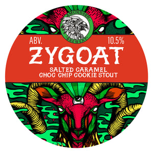 Zygoat - Amundsen Brewery - Salted Caramel Choc Chip Cookie Imperial Stout, 10.5%, 330ml Can