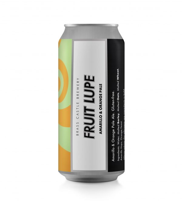 Fruit Lupe - Brass Castle - Gluten Free Citra & Mango Pale, 4.8%, 440ml Can