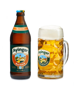 Ayinger Maibock - Ayinger Privatbrauerei - Maibock, 6.9%, 500ml Bottle