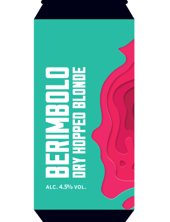 Berimbolo - Marble Beers - Dry Hopped Blonde , 4.5%, 500ml Can