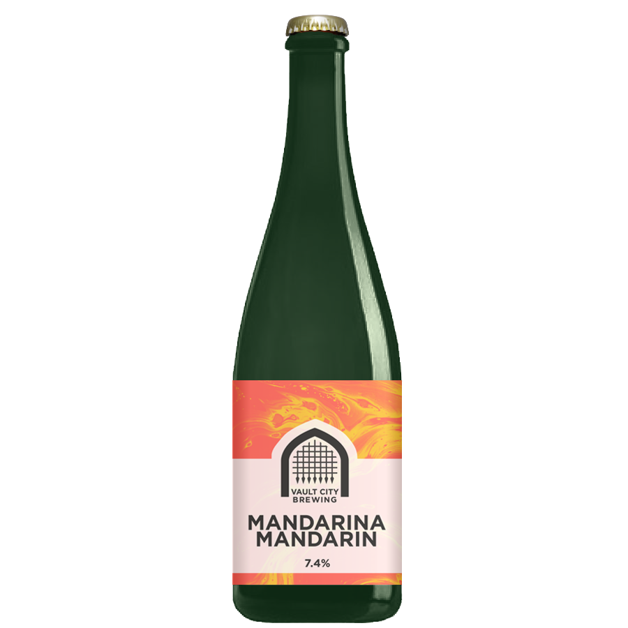 Mandarina Mandarin - Vault City - Mandarin Sour, 7.4%, 375ml Bottle